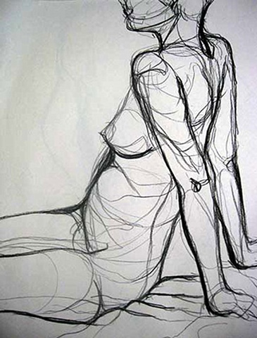 Introduction to Figure Drawing Cross Contour