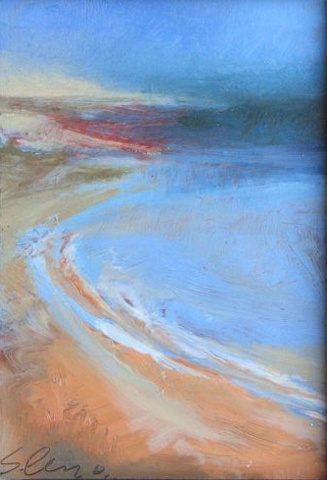Ocean, beach, water impression