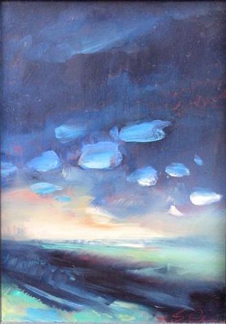 Asheville art, landscape painting, ocean scene