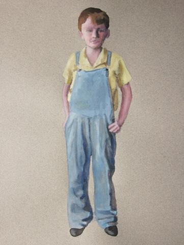 Mill Boy Standing