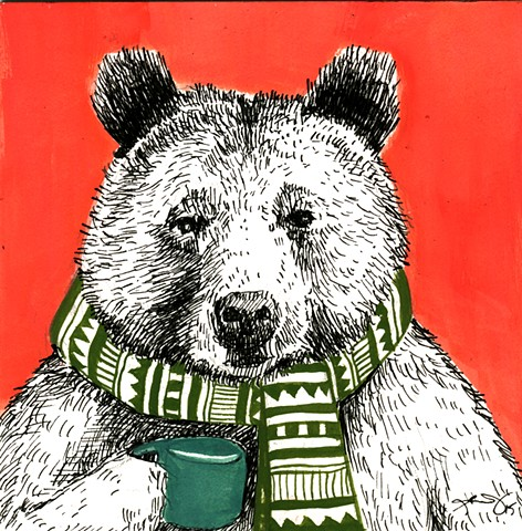 Bear with Cider