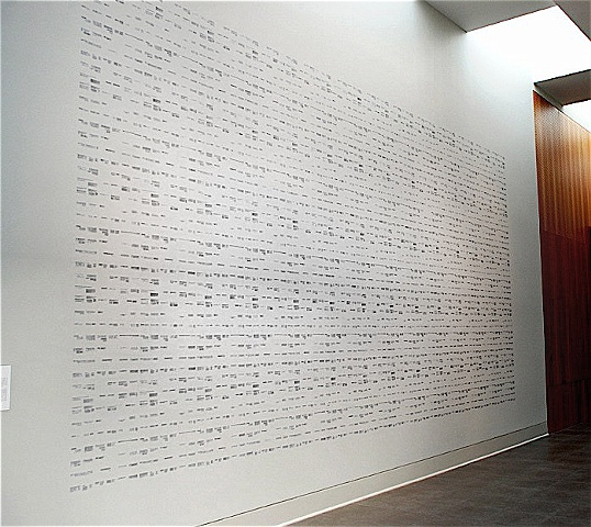 Untitled 2007 (2009 Installation)