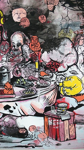 """Table Manners"" detail1"
