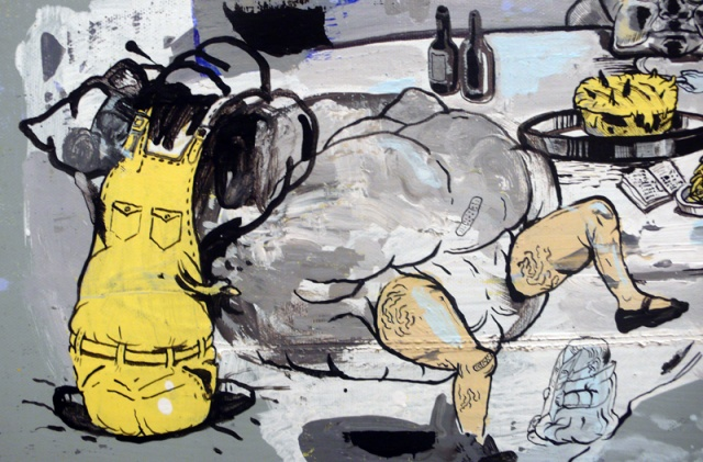 """Little Dinner (Yellow)""   detail"