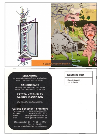 Tricia Keightley/Daniel Davidson @ Gallery Schuster Aug 31 2007 Season Start