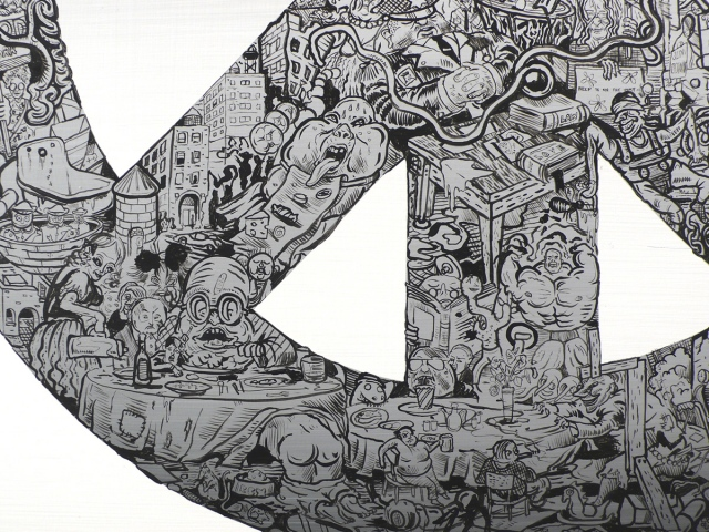 Peace III (detail)