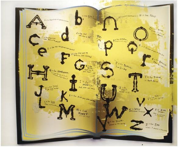 """Alphabet of Hard Knocks"