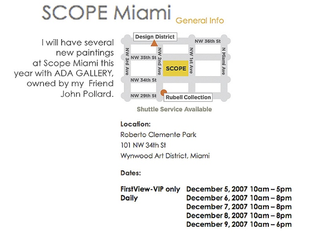 SCOPE MIAMI 2007