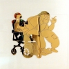 """Worst Case Scenario Self Portrait (Gold Jazzy)"""