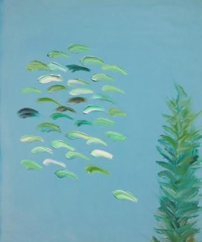 Light Aqua School No. 9