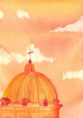 St. Andrea della Valle, Roma (orange)