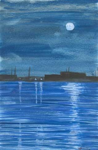 Moonrise of Coronado