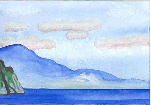 View from Amalfi Coast