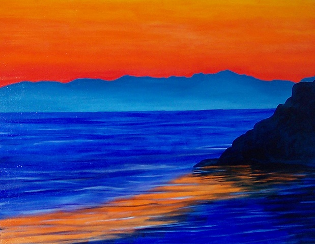 Commission-Santa Barbara Sunset