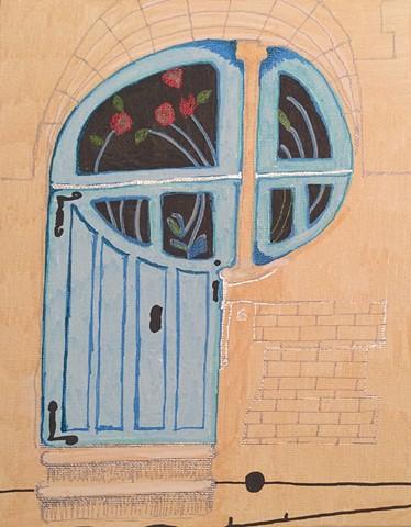 """""""P"""" Shaped Door, Doors of Mercy"""