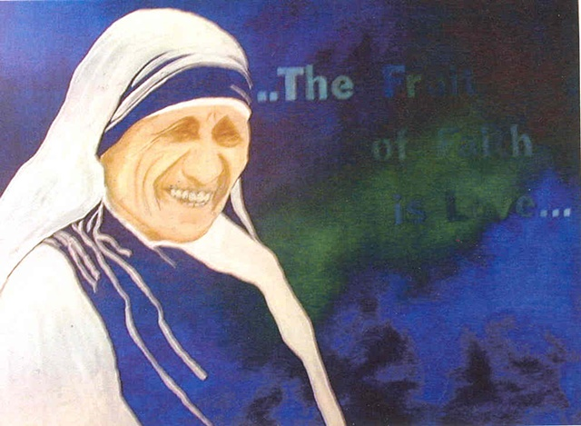 Elemental Goddesses Mother Theresa