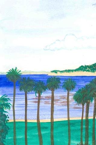 View of the Cove at La Jolla