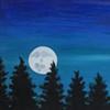Pine Tree Moon