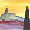 Yellow Todi Sunset