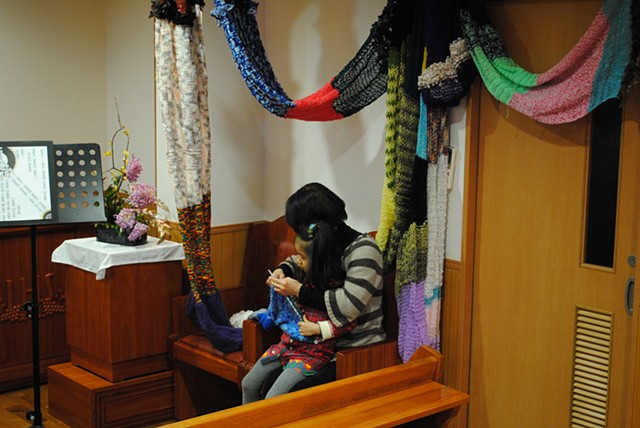 The Scarf in Tokyo, Japan