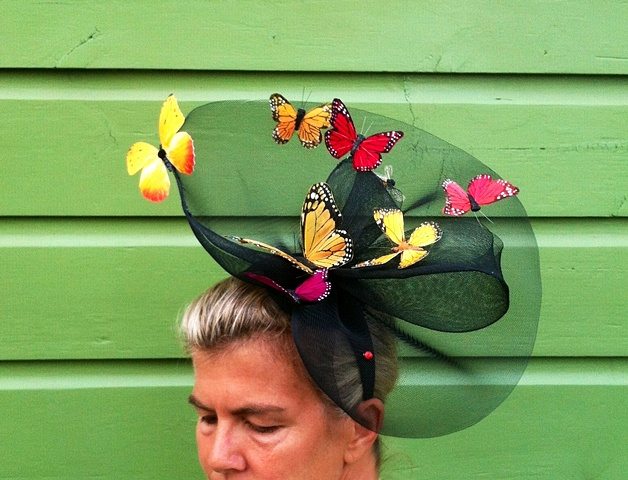 Butterfly Fascinator Hat