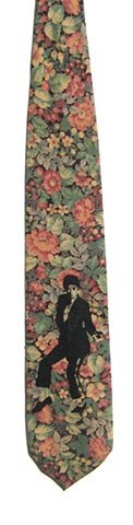 "Floral Vintage ""Rock with You""- Michael Jackson"