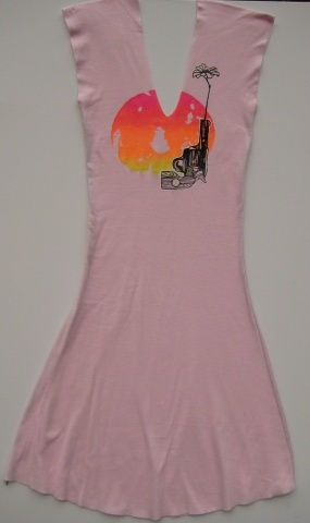 Pink Bullets for Flowers dress