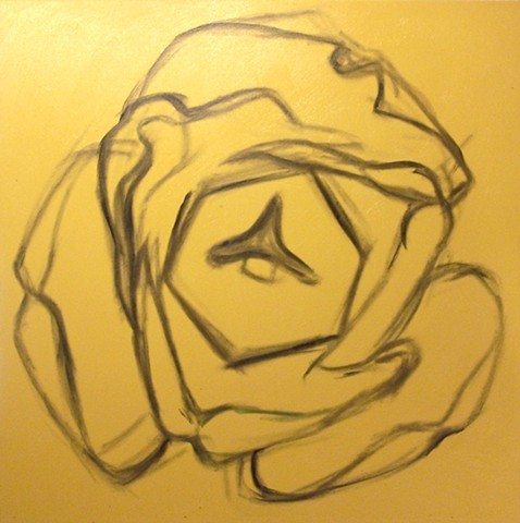 Yellow Tulip (step 1)