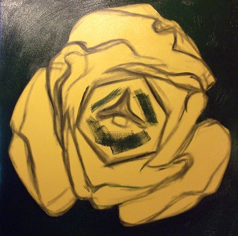 Yellow Tulip (step 2)
