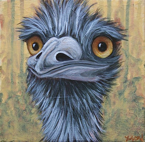 Emu Portrait #1