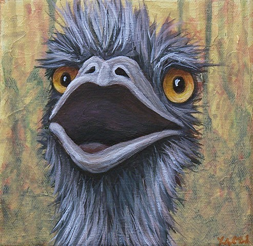 Emu Portrait #5