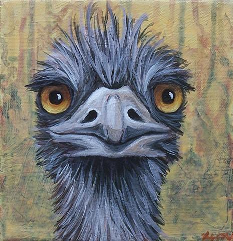 Emu Portrait #6