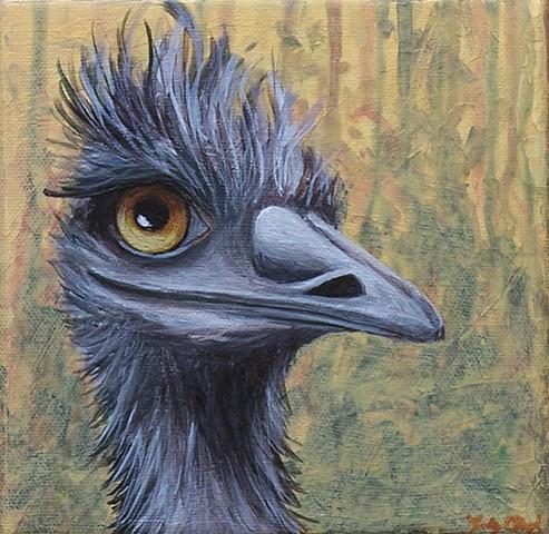 Emu Portrait #3