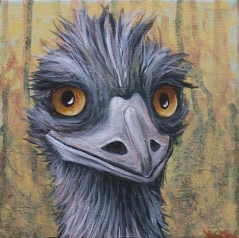 Emu Portrait #4