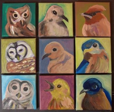 Bird portraits (step 2)