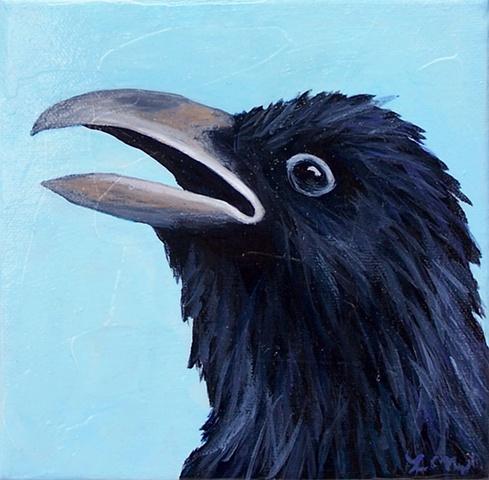 Raven Portrait #4