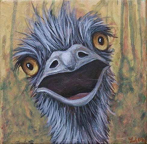 Emu Portrait #2