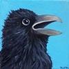 Raven Portrait #5