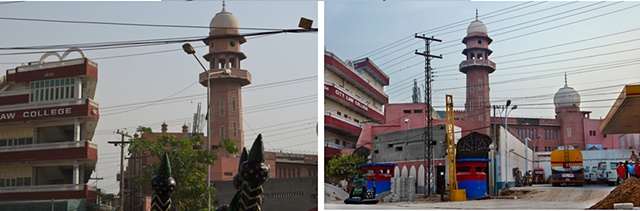 Left: Darul-Zikr, Built 1952, Visited on 12-5-2012. Digital Print Right: Darul-Zikr, Built 1952, Visited on 31-5-2012, After 298b and c. Digital Print