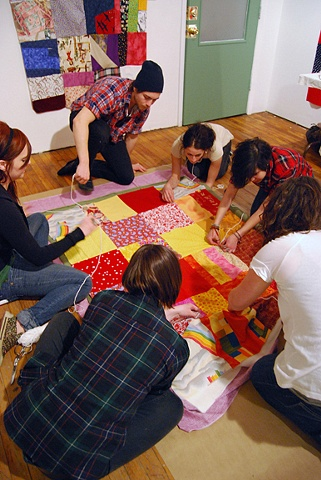 tufting quilts with class SAIC