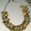 beaded necklace with many balls