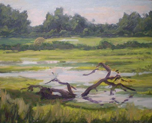 Plein Air Painting Ken Chapin Missouri