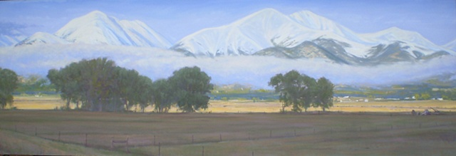 Impressionist Landscape Painting Colorado