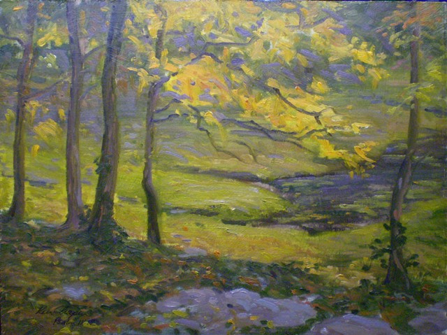 big cedar lodge painting plein air impressionist