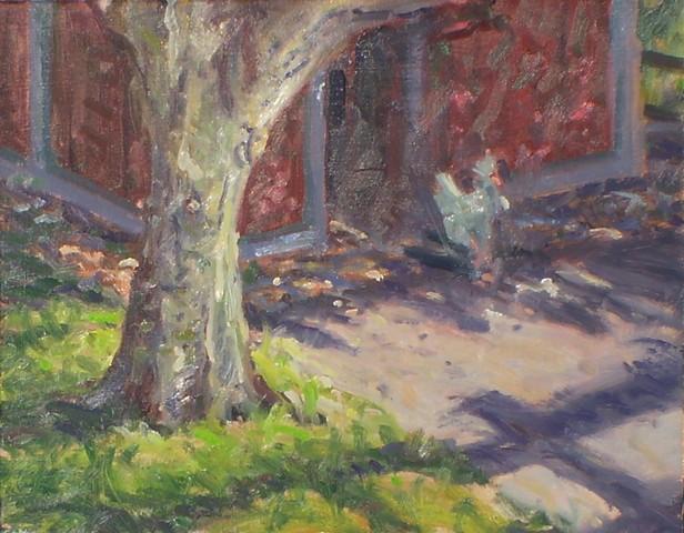 plein air impressionist landscape painting deanna rose children's farmstead