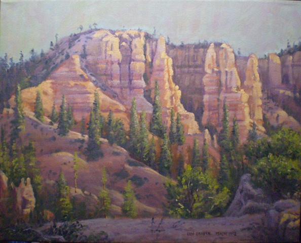 Impressionist Landscape Painting Bryce Canyon Ken Chapin