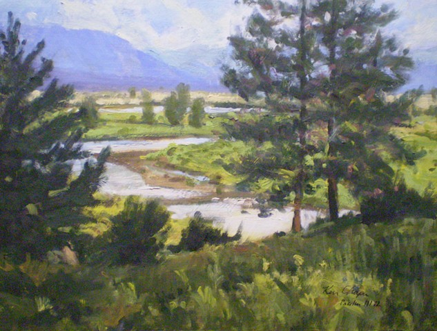 Rocky Mountain National Park, Plein Air Painting, Impresionism