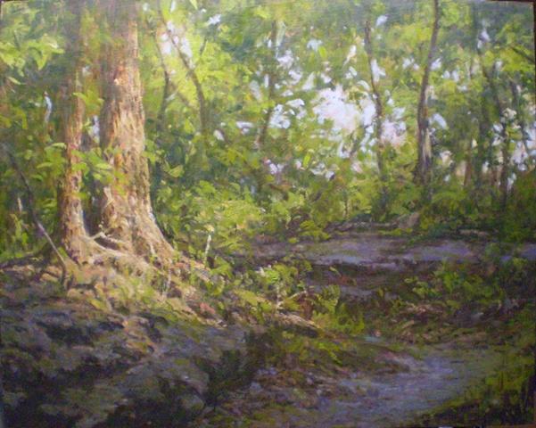 impressionist landscape painting