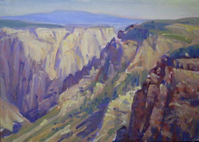 Impressionist Landscape Painting Colorado Ken Chapin