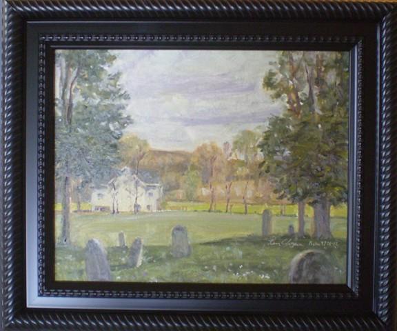 plein air impressionist landscape painting femme osage missouri